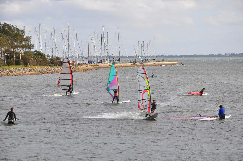 Windsurfing in Orth